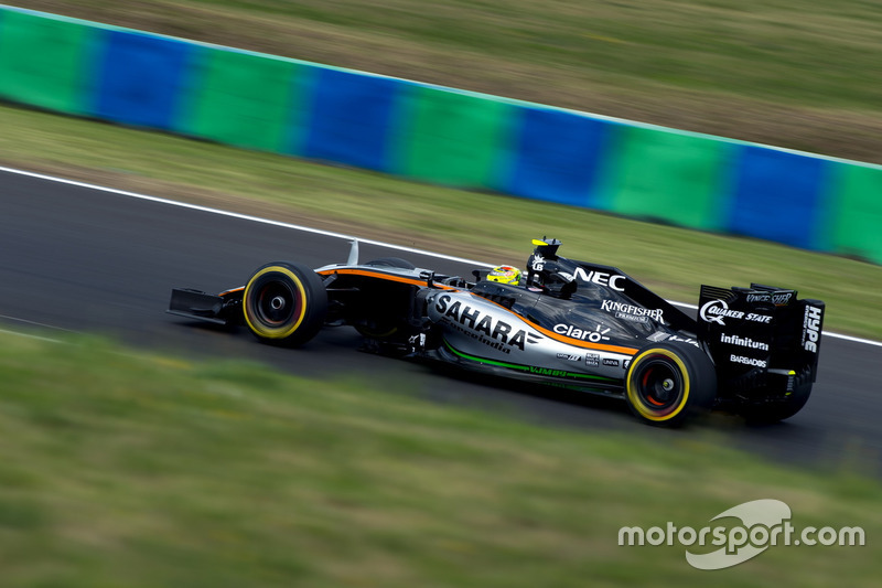 Sergio Perez, Sahara Force India F1, VJM09
