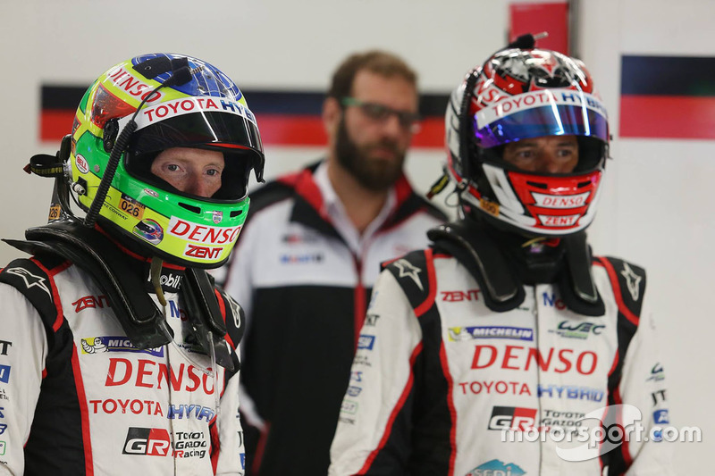 #6 Toyota Racing Toyota TS050 Hybrid: Stéphane Sarrazin, Mike Conway