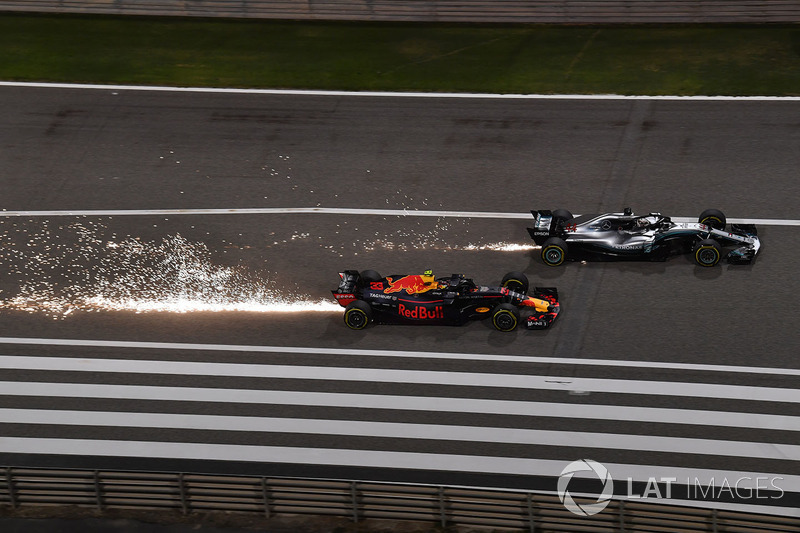Макс Ферстаппен, Red Bull Racing RB14, Льюіс Хемілтон, Mercedes-AMG F1 W09 EQ Power+