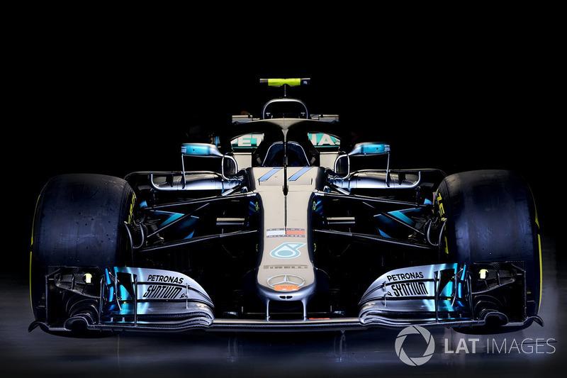Detalles técnicos del coche de Valtteri Bottas, Mercedes AMG F1 W09