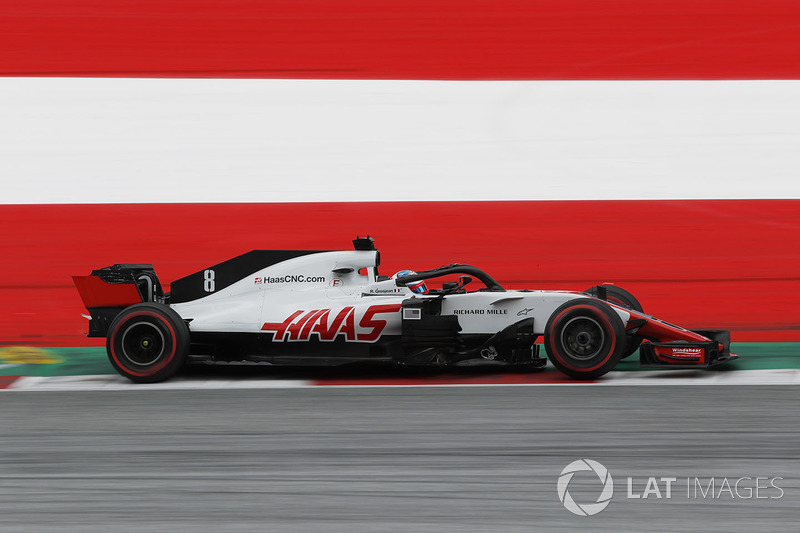 5: Romain Grosjean, Haas F1 Team VF-18, 1'03.892