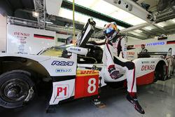 #8 Toyota Gazoo Racing Toyota TS050-Hybrid: Sébastien Buemi