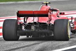 Kimi Raikkonen, Ferrari SF71H arka bölüm detay