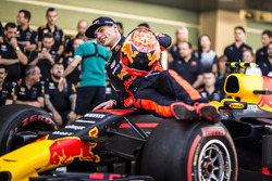 Max Verstappen, Red Bull Racing at the Red Bull Racing team photo