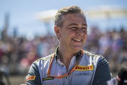 Mario Isola, Pirelli Sporting Director