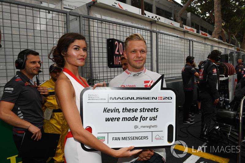 Кевін Магнуссен, Haas F1, грід-гьол