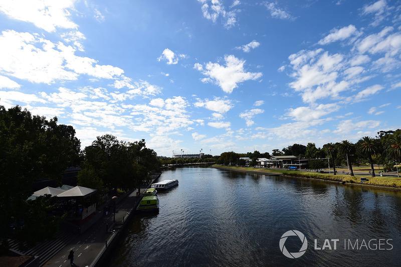 Una vista di Melbourne
