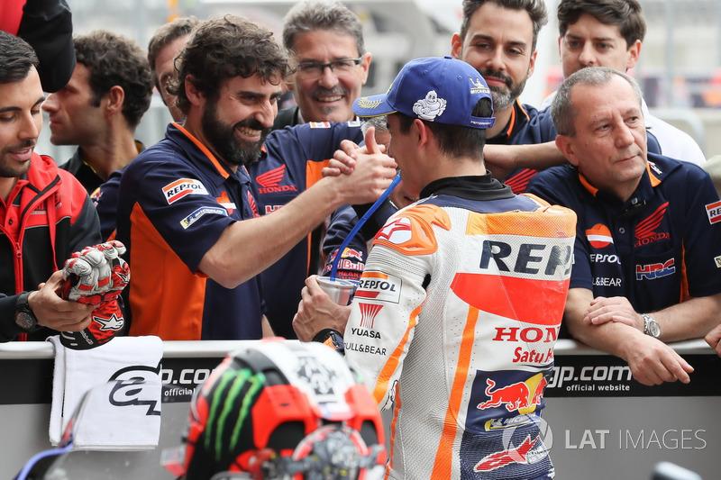 Pole position for Marc Marquez, Repsol Honda Team