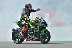 Yarış galibi Tom Sykes, Kawasaki Racing