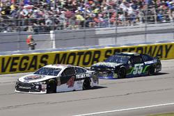 Kevin Harvick, Stewart-Haas Racing, Ford Fusion Jimmy John's, Joey Gase, Premium Motorsports, Chevrolet Camaro Nevada Donor Network