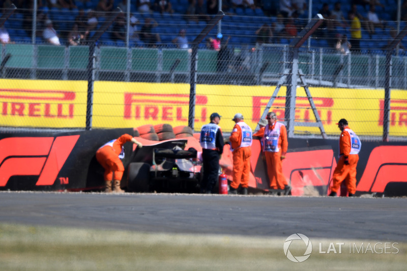 Accidente de Brendon Hartley, Scuderia Toro Rosso STR13