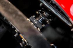 1993 McLaren-Cosworth Ford MP4/8A of Ayrton Senna, steering wheel detail