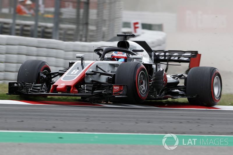 10: Romain Grosjean, Haas F1 Team VF-18, 1'17.835