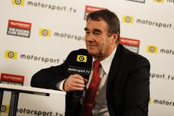 Найджел Менселл дає інтерв'ю Петеру Віндзору на Motorsport TV