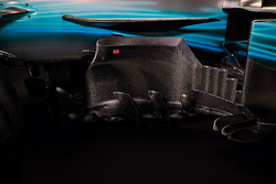 Бокові понтони Mercedes AMG F1 W08