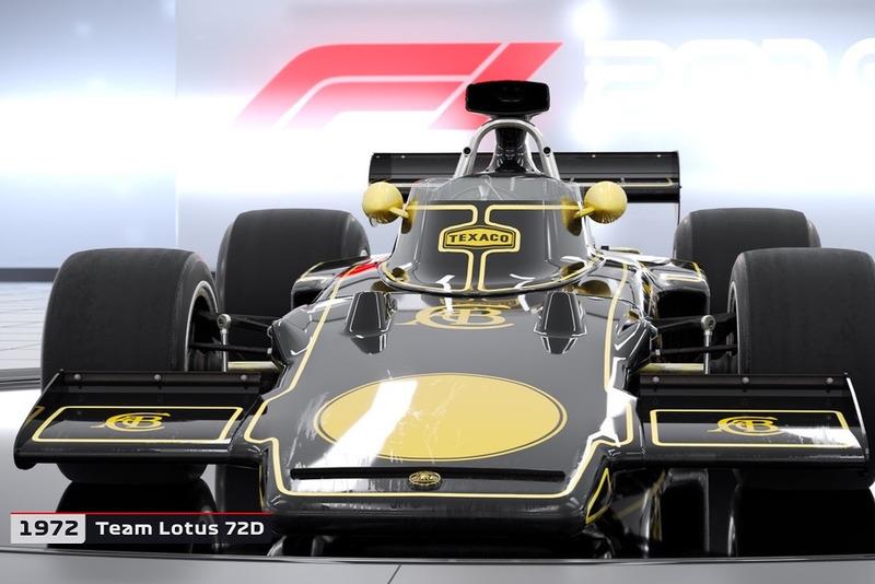 1972 Lotus 72D