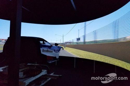 Chip Ganassi Racing Ford GT simulator