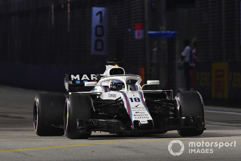 20: Lance Stroll, Williams FW41, 1'41.334