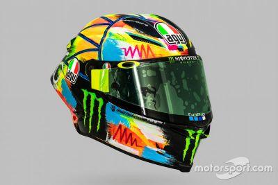 Valentino Rossi helmdesign