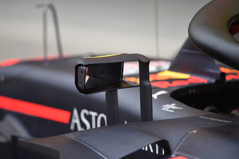 Mirror on Red Bull Racing RB14