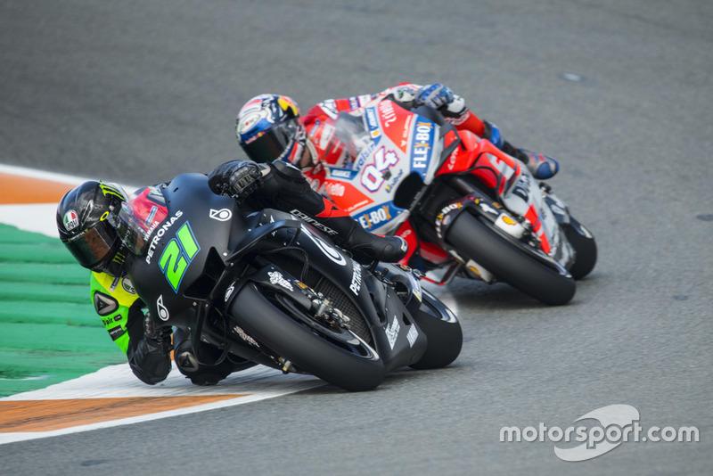 Franco Morbidelli (Petronas Yamaha SRT), Andrea Dovizioso (Ducati Team)