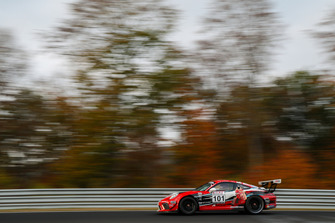 #101 Porsche 911 GT3 Cup: John Shoffner, Janine Hill, Fabian Schiller