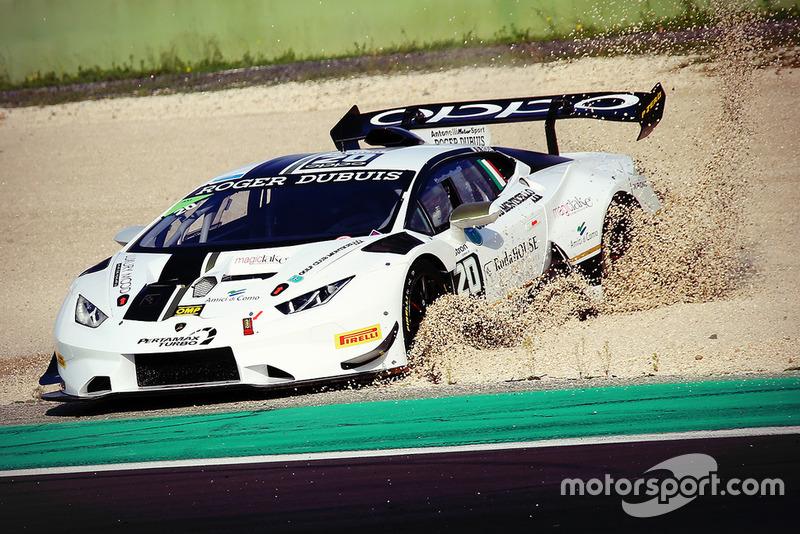 Lamborghini Huracan Super Trofeo Evo #20, Antonelli Motorsport: Davide Roda
