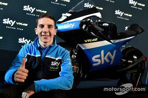 Presentación del Sky Racing Team VR46
