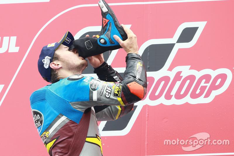 Podyum: 1. Jack Miller, Marc VDS Racing Honda