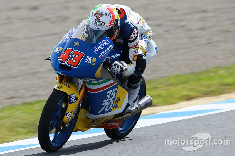Stefano Valtulini, 3570 Team Italia, Moto3