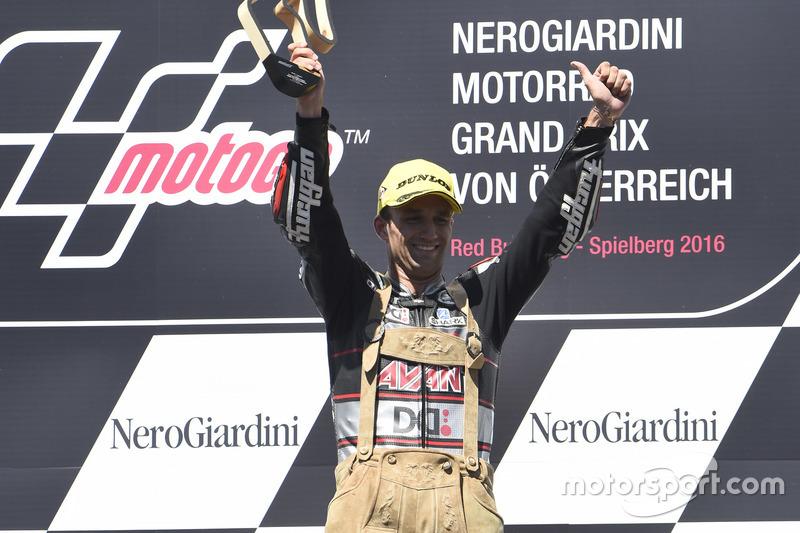 Podium: Johann Zarco, Ajo Motorsport, Kalex