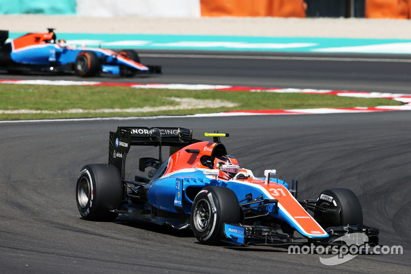 20. Esteban Ocon, Manor Racing MRT05