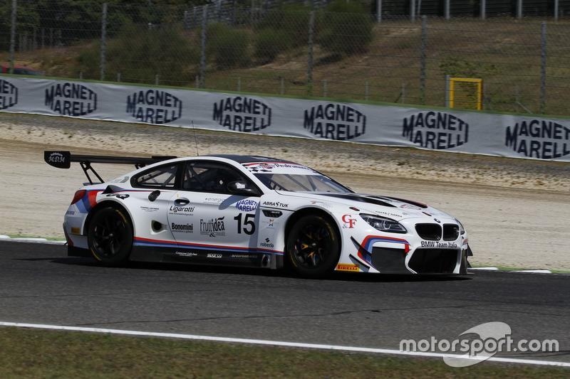 BMW M6 GT3 #15, BMW Team Italia, Comandini-Cerqui