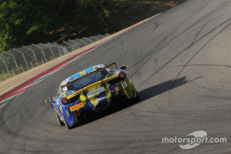 #13 Rossocorsa, Ferrari 458: Martin Nelson