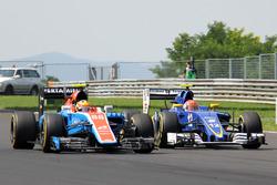 Рио Харьянто, Manor Racing MRT05 и Фелипе Наср, Saber C35