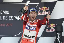 Подіум: третє місце Хорхе Лоренсо, Ducati Team