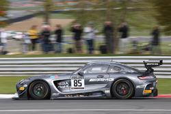 #85 HTP Motorsport Mercedes AMG GT3: Fabian Schiller, Jules Szymkowiak