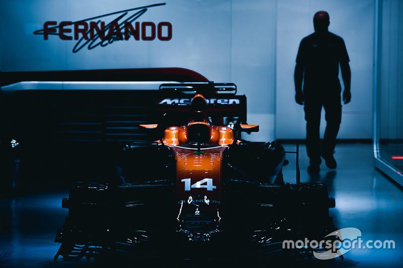 McLaren MCL32 Фернандо Алонсо