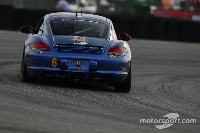 #6 Rebel Rock Racing Porsche Cayman: Trevor Knight, Shane Lewis