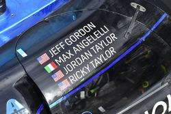 Car of race winners #10 Wayne Taylor Racing Cadillac DPi: Ricky Taylor, Jordan Taylor, Max Angelelli, Jeff Gordon