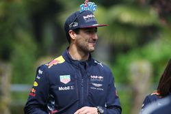 Daniel Ricciardo, Red Bull Racing, mit lustiger Kappe