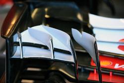 Ferrari SF70H detail voorvleugel