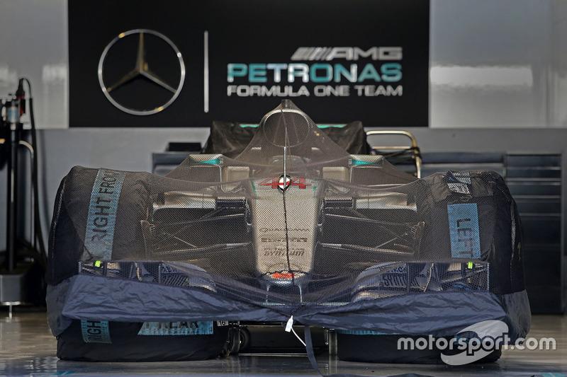 Mercedes AMG F1 W07 Hybrid von Lewis Hamilton