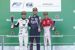 Podium: Luca Ghiotto, RUSSIAN TIME Sergio Sette Camara, MP Motorsport Antonio Fuoco, PREMA Powerteam