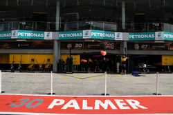 Garage of Jolyon Palmer, Renault Sport F1 Team
