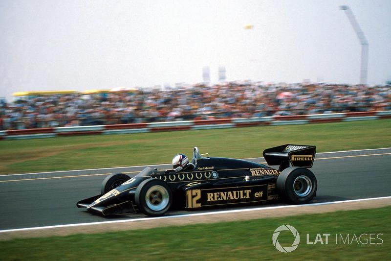 Lotus : 1983-1986