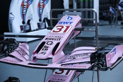 Sahara Force India VJM10 nose and front wing