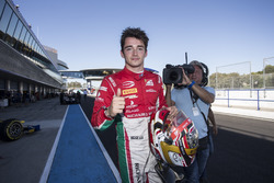Charles Leclerc, PREMA Powerteam pakt de pole