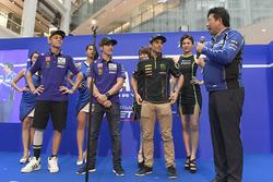 Валентино Россі, Yamaha Factory Racing, Маверік Віньялес, Yamaha Factory Racing, Жоанн Зарко, Monster Yamaha Tech 3