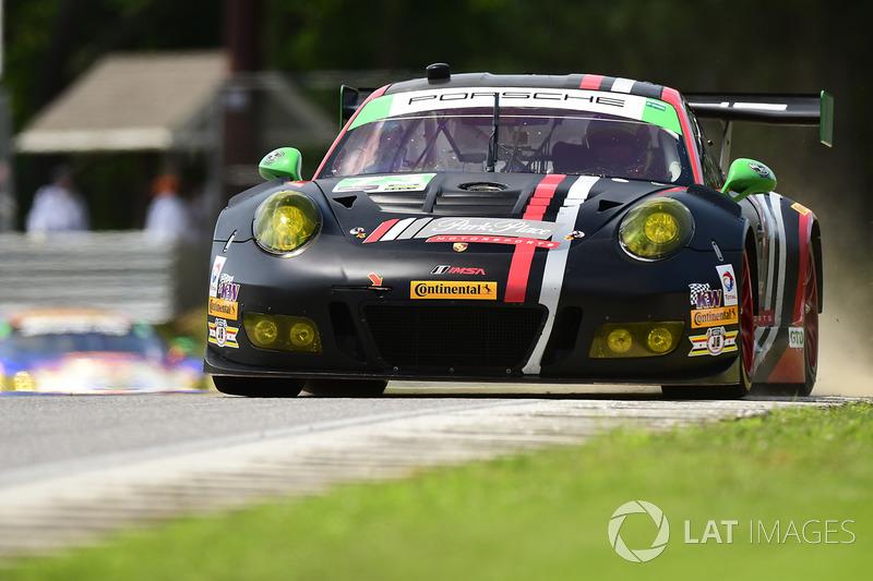 #73 Park Place Motorsports Porsche GT3 R: Patrick Lindsey, Jörg Bergmeister